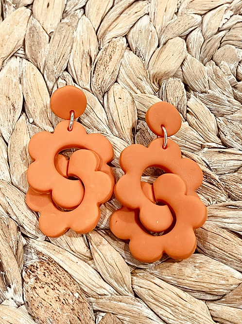 Daisypuzzle earrings