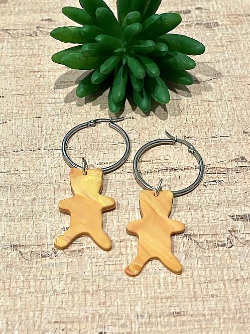 Teddy earrings
