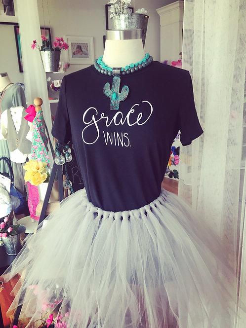 Grace Wins shirt