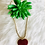 Thumbnail: Glass Red Heart necklace