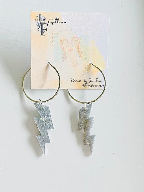Lighting earrings