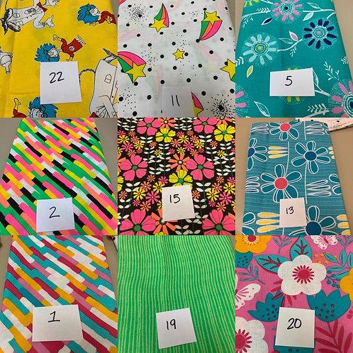 Kids and fun fabrics