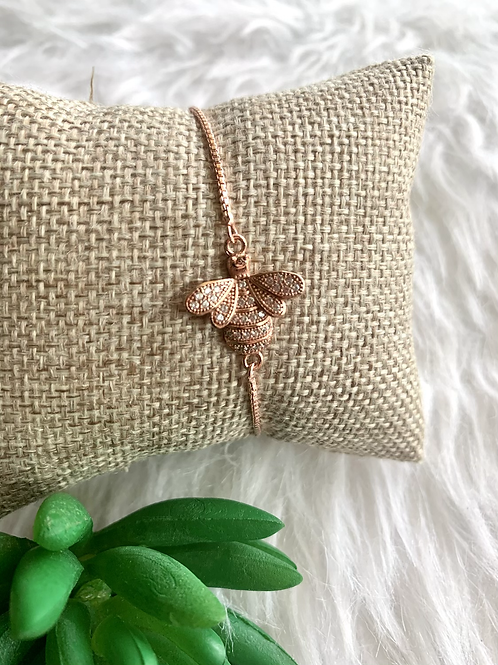 Rose Gold Bee