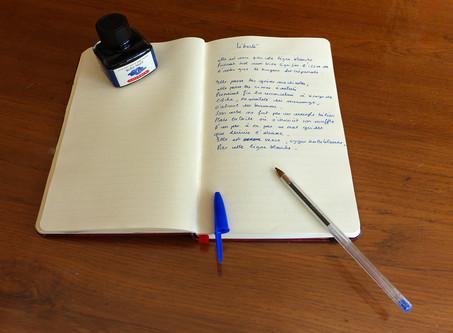 Espace membres : textes de participants aux ateliers