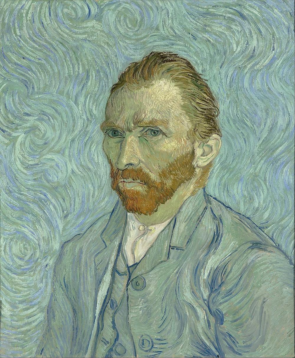 Vincent Van Gogh Self Portrait, 1889