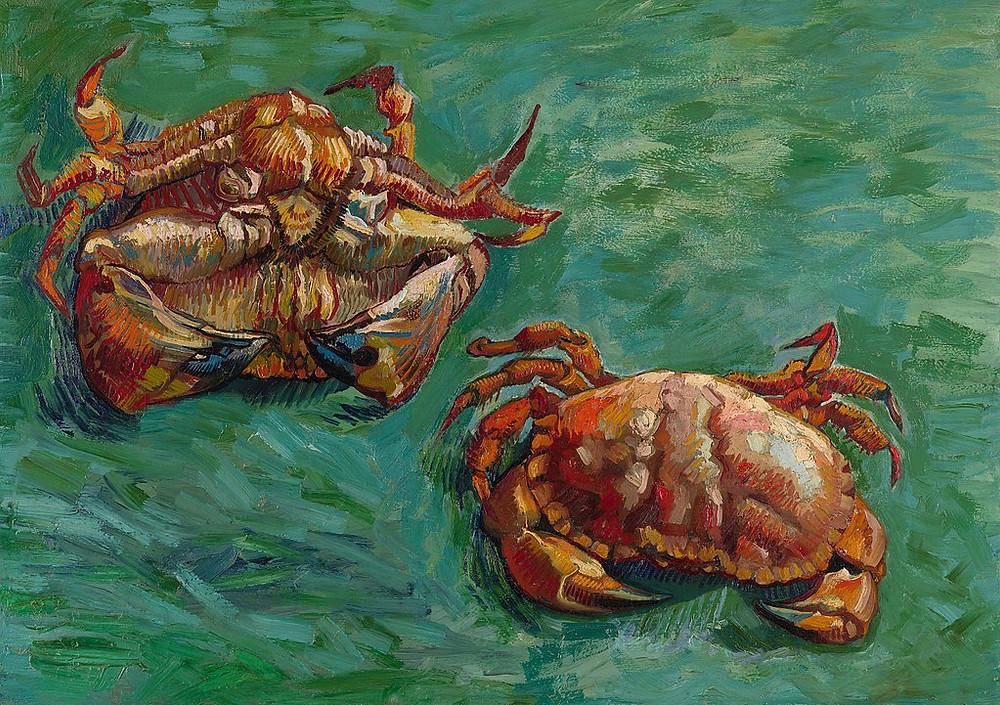 Vincent Van Gogh Two Crabs, 1889