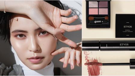 超沁涼降溫夏彩新色!ETVOS 蜜桃可可4色眼影、玫瑰棕睫毛膏,創造迷人的莓果艷色臉龐!