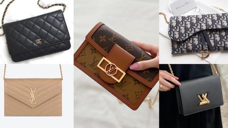 六款WOC鍊帶包夢幻型號推薦!小資低預算入門精品包,皮夾結合小包顏值高又實用!
