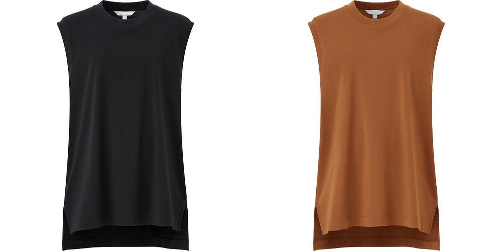 Mame AIRism 棉質寬版T恤NT$790