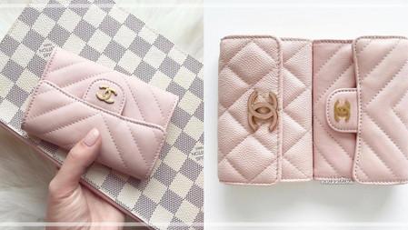 根本仙女配色~CHANEL香奈兒新款「櫻花柔粉」短夾、手機殼、鍊帶包,帶來整年好運!