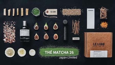 Le Labo全新日本香:「THÉ MATCHA 26」限定抹茶香水,體驗日本文化的平靜和諧感