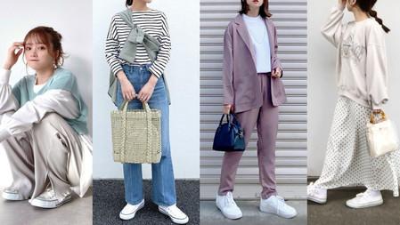 10套女生白鞋穿搭靈感「五大腿長顯瘦秘訣」出門不用再想老半天,怎麼穿都不會出錯!