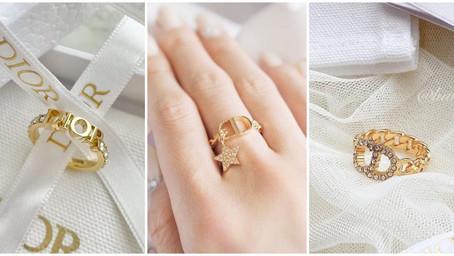 美到怦然心動!Dior夢幻戒指TOP6推薦!經典CD、蒙田,一萬多入門首款精品珠寶!