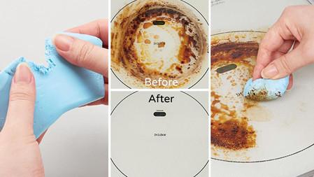 這不是普通的黏土!日本超神奇「能吸走油汙的廚房救星」
