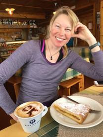 Apres ski espresso and pastry