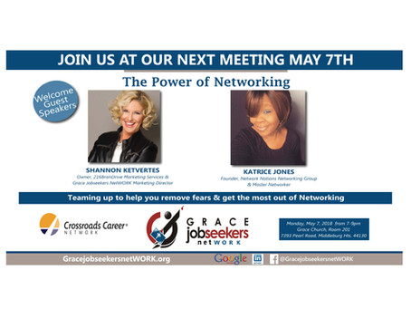 Shannon Ketvertes to Present on Networking at Job Seekers Group