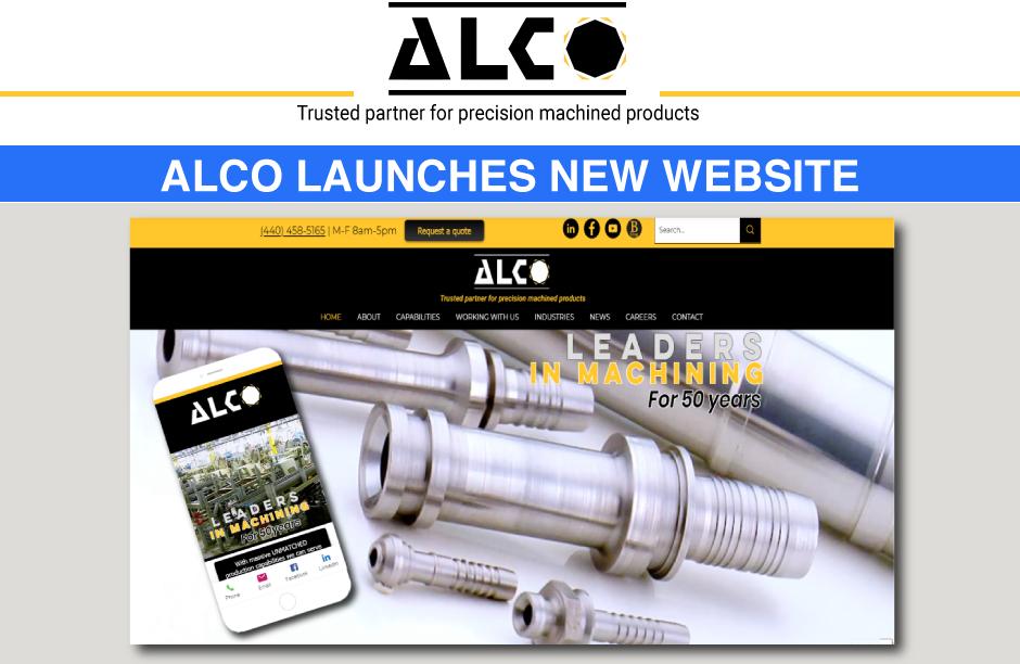 Alco Manufacturing Precision machining services