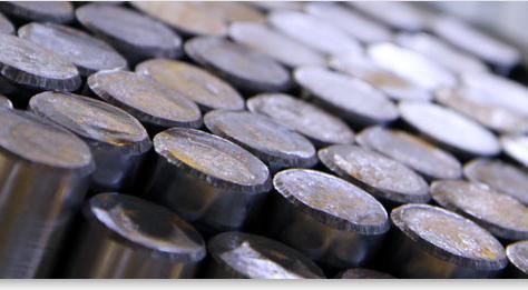 Steel: 1215, 12L14, 1137/1141, 1018, 1117