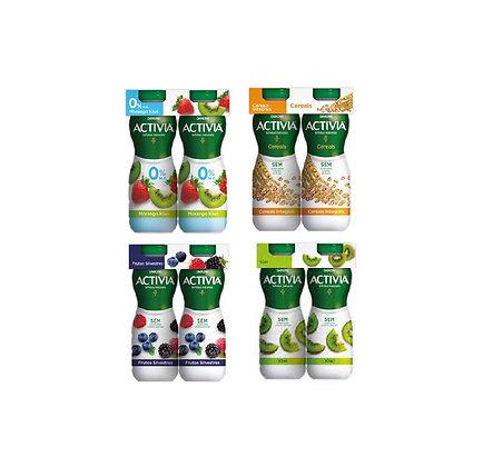Iogurte Activia 0% líquido (vários sabores)