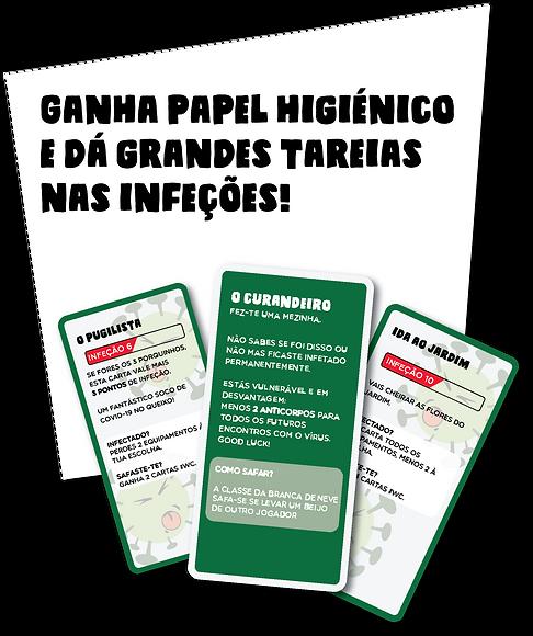 Cartas #Fiqueemcasa