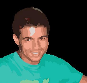 Fotografia do João Pedro. Co-fundador da Tagus Games.