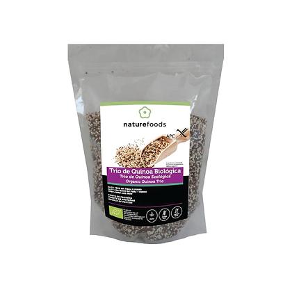 Quinoa trio Bio S/Gluten Naturefoods 500gr