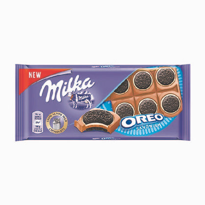 Chocolate Milka Oreo Sandwich 100gr