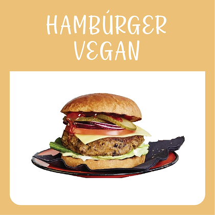 Hambúrguer Vegan (2x140gr)