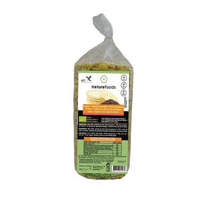 Galetes Milho e Chia BIO Naturefoods 120gr