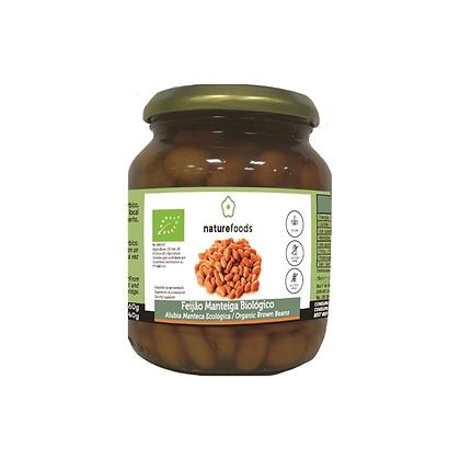 Feijão Manteiga BIO Naturefoods frasco 360gr