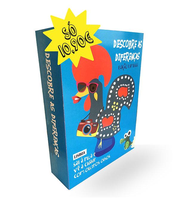 Jogo Descobre as Diferenças - Edição Lisboa - só 10,90€