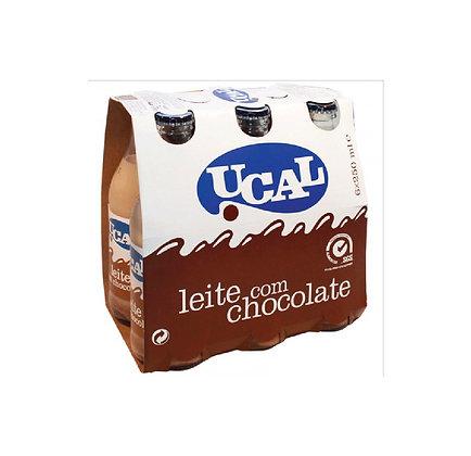 Leite com chocolate Ucal 6x250ml