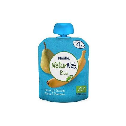 Fruta para bebé NaturNes Bio Nestlé 90g (vários sabores)