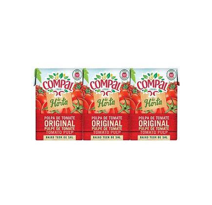 Polpa de tomate Compal 3x210gr