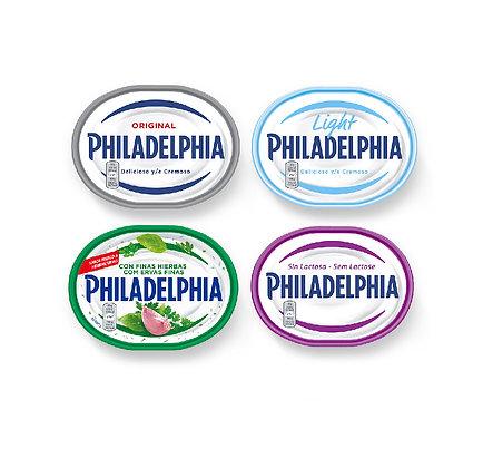 Philadelphia 175gr (vários sabores)