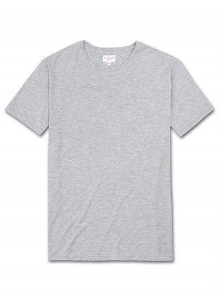 DEREK ROSE Ethan MicroModal Stretch T-Shirt - Grey