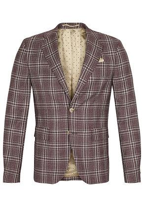 SAND Plaid Jacket