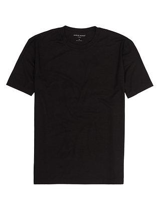 DEREK ROSE Basel MicroModal Stretch T-Shirt - Black