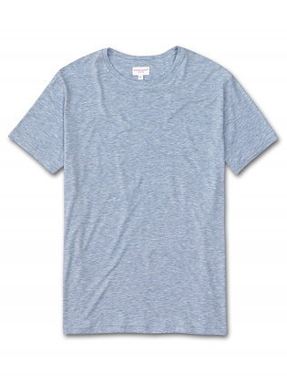 DEREK ROSE Ethan MicroModal Stretch T-Shirt - Blue