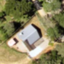 Detalhe de uma imagem de drone