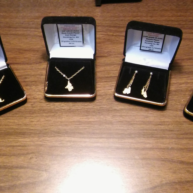Genuine Gold Nugget Jewelry