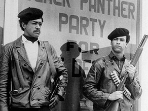 The Black panther party inspired me