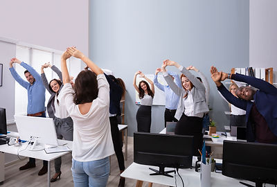 Happy Multi-ethnic Businesspeople Raisin