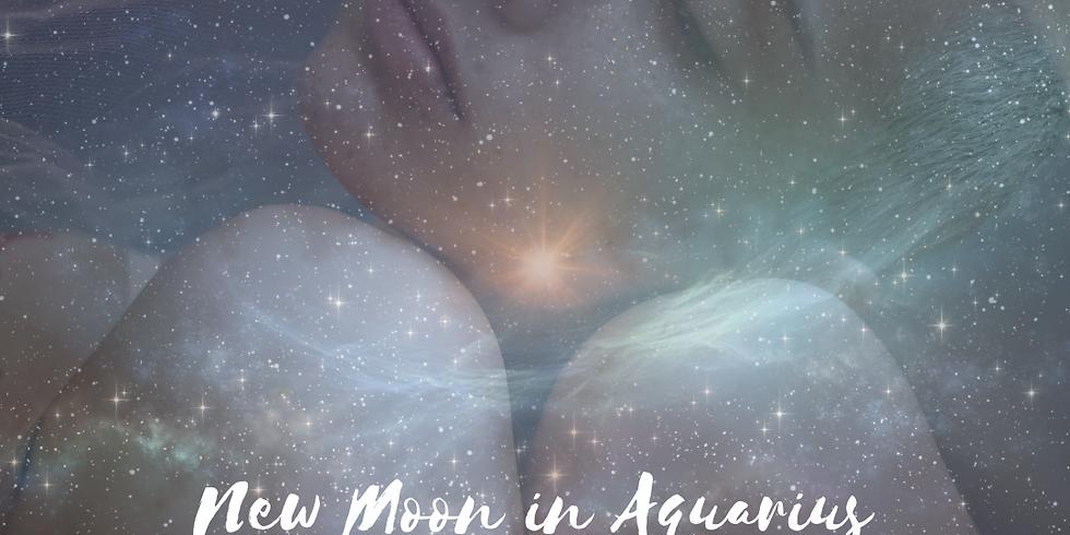 Mystical Moon Sister - New Moon in Aquarius