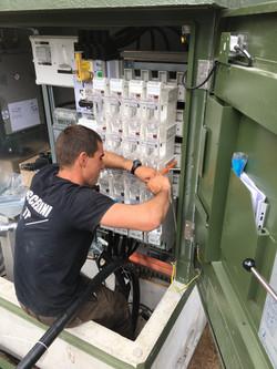 Câblage poste MT/BT