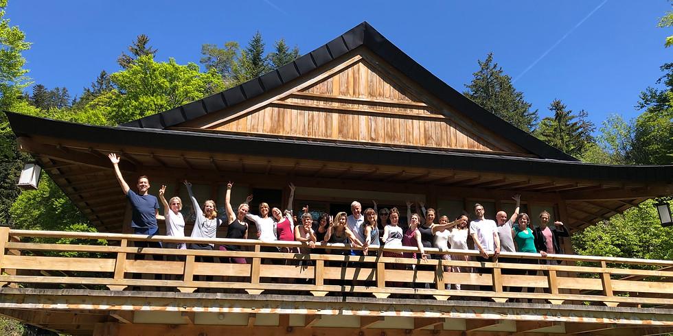 Easter Yoga Retreat at Mt. Rigi with Karl Straub & Isabel Furrer (co-teacher)