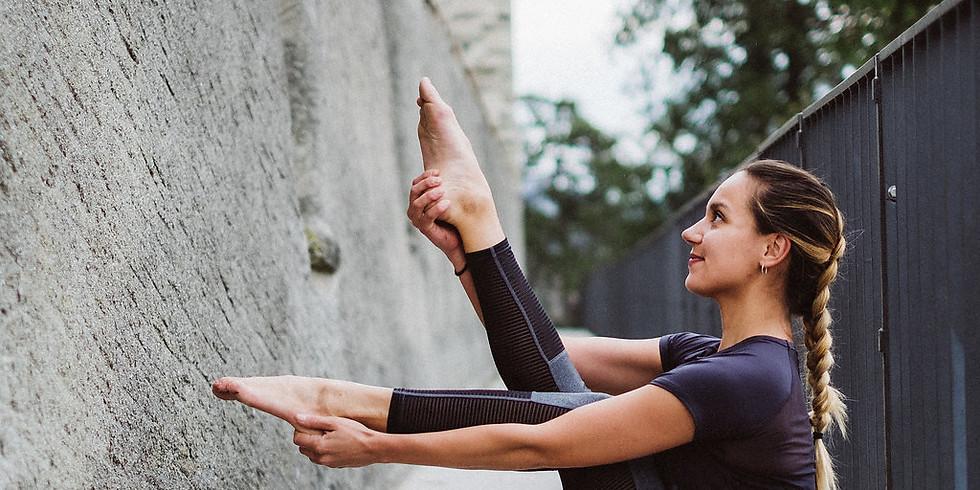 AUSGEBUCHT Yoga für gesunde Beine + Knie