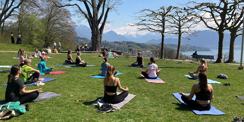 Outdoor Vinyasa Yoga