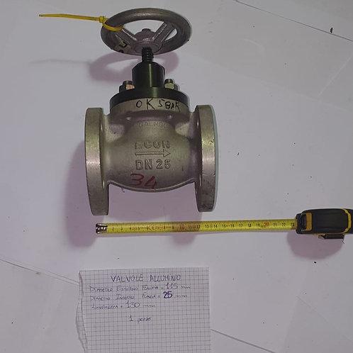 Valvola in Alluminio Ø115mm