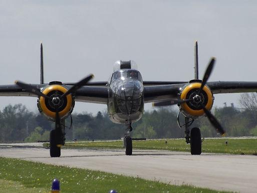 B-25J on Taxi